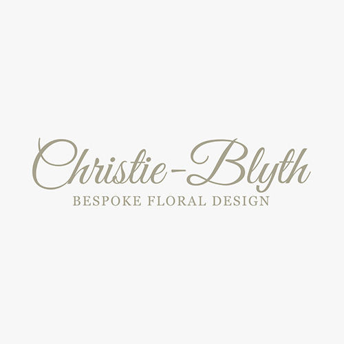 Christie-Blyth website shown on a tablet